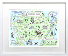 Load image into Gallery viewer, Richmond Park Map