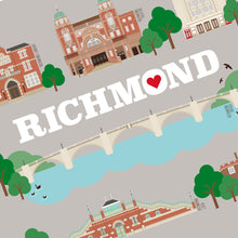 Load image into Gallery viewer, Richmond Illustrated Print