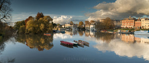 Autumn Flood by Richmond Riverside