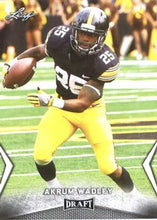 Load image into Gallery viewer, 2018 Leaf Draft Football Cards: #01 Akrum Wadley