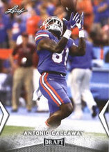 Load image into Gallery viewer, 2018 Leaf Draft Football Cards: #04 Antonio Callaway