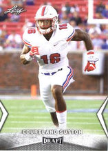 Load image into Gallery viewer, 2018 Leaf Draft Football Cards: #12 Courtland Sutton