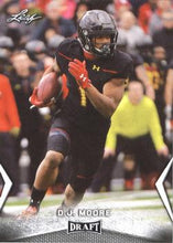 Load image into Gallery viewer, 2018 Leaf Draft Football Cards: #14 D.J. Moore