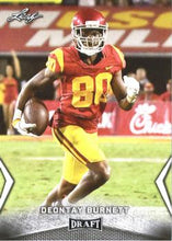 Load image into Gallery viewer, 2018 Leaf Draft Football Cards: #19 Deontay Burnett