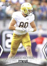 Load image into Gallery viewer, 2018 Leaf Draft Football Cards: #22 Durham Smythe