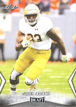 Load image into Gallery viewer, 2018 Leaf Draft Football Cards: #30 Josh Adams
