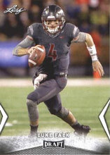Load image into Gallery viewer, 2018 Leaf Draft Football Cards: #35 Luke Falk