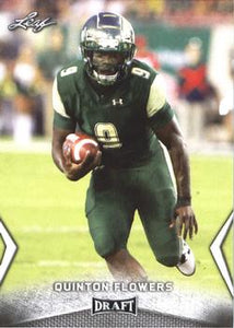 2018 Leaf Draft Football Cards: #45 Quinton Flowers