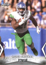Load image into Gallery viewer, 2018 Leaf Draft Football Cards: #53 Royce Freeman