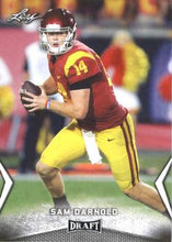 Load image into Gallery viewer, 2018 Leaf Draft Football Cards: #54 Sam Darnold