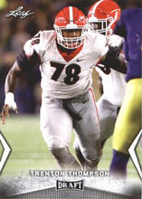 Load image into Gallery viewer, 2018 Leaf Draft Football Cards: #58 Trenton Thompson