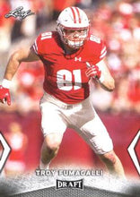 Load image into Gallery viewer, 2018 Leaf Draft Football Cards: #59 Troy Fumagalli