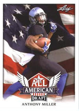 Load image into Gallery viewer, 2018 Leaf Draft Football Cards - All American: #AA-01 Anthony Miller