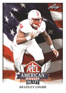 2018 Leaf Draft Football Cards - All American: #AA-03 Bradley Chubb