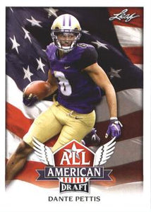 2018 Leaf Draft Football Cards - All American: #AA-04 Dante Pettis