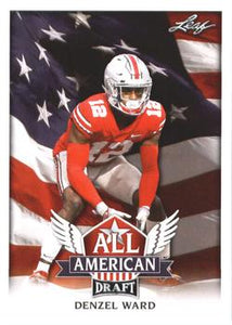 2018 Leaf Draft Football Cards - All American: #AA-05 Denzel Ward