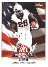Load image into Gallery viewer, 2018 Leaf Draft Football Cards - All American: #AA-06 James Washington