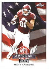 Load image into Gallery viewer, 2018 Leaf Draft Football Cards - All American: #AA-07 Mark Andrews
