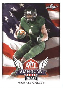 2018 Leaf Draft Football Cards - All American: #AA-09 Michael Gallup