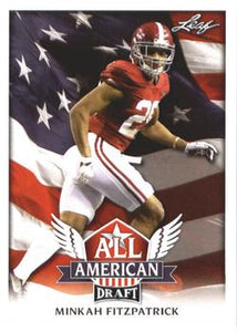 2018 Leaf Draft Football Cards - All American: #AA-10 Minkah Fitzpatrick