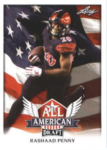 2018 Leaf Draft Football Cards - All American: #AA-11 Rashaad Penny