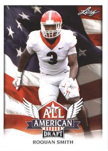 2018 Leaf Draft Football Cards - All American: #AA-12 Roquan Smith