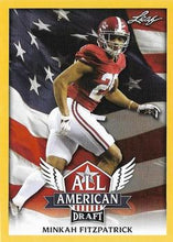 Load image into Gallery viewer, 2018 Leaf Draft Football Cards - All American Gold: #AA-10 Minkah Fitzpatrick