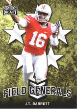 Load image into Gallery viewer, 2018 Leaf Draft Football Cards - Field Generals: #FG-02 J.T. Barrett