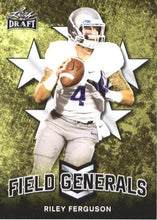 Load image into Gallery viewer, 2018 Leaf Draft Football Cards - Field Generals: #FG-08 Riley Ferguson