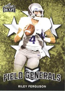 2018 Leaf Draft Football Cards - Field Generals: #FG-08 Riley Ferguson