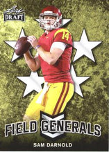 Load image into Gallery viewer, 2018 Leaf Draft Football Cards - Field Generals: #FG-09 Sam Darnold