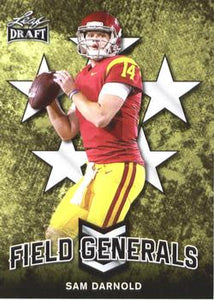 2018 Leaf Draft Football Cards - Field Generals: #FG-09 Sam Darnold