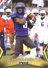 Load image into Gallery viewer, 2018 Leaf Draft Football Cards - Gold: #03 Anthony Miller