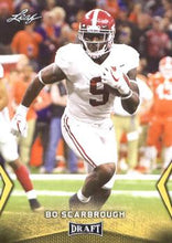 Load image into Gallery viewer, 2018 Leaf Draft Football Cards - Gold: #08 Bo Scarbrough