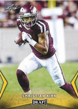 Load image into Gallery viewer, 2018 Leaf Draft Football Cards - Gold: #11 Christian Kirk