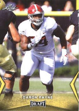 Load image into Gallery viewer, 2018 Leaf Draft Football Cards - Gold: #16 Da'Ron Payne