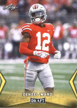 Load image into Gallery viewer, 2018 Leaf Draft Football Cards - Gold: #17 Denzel Ward