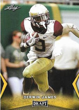 Load image into Gallery viewer, 2018 Leaf Draft Football Cards - Gold: #21 Derwin James