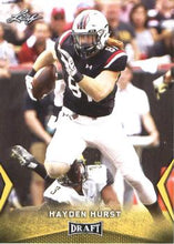 Load image into Gallery viewer, 2018 Leaf Draft Football Cards - Gold: #24 Hayden Hurst