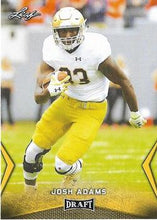 Load image into Gallery viewer, 2018 Leaf Draft Football Cards - Gold: #30 Josh Adams