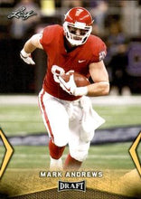 Load image into Gallery viewer, 2018 Leaf Draft Football Cards - Gold: #37 Mark Andrews