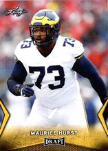 Load image into Gallery viewer, 2018 Leaf Draft Football Cards - Gold: #40 Maurice Hurst
