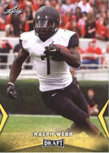 Load image into Gallery viewer, 2018 Leaf Draft Football Cards - Gold: #46 Ralph Webb