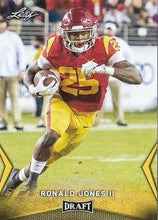 Load image into Gallery viewer, 2018 Leaf Draft Football Cards - Gold: #50 Ronald Jones II