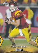 Load image into Gallery viewer, 2018 Leaf Draft Football Cards - Gold: #54 Sam Darnold