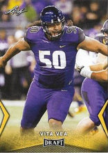Load image into Gallery viewer, 2018 Leaf Draft Football Cards - Gold: #60 Vita Vea