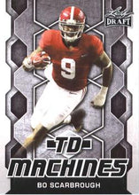Load image into Gallery viewer, 2018 Leaf Draft Football Cards - TD Machines: #TD-02 Bo Scarbrough