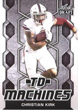 Load image into Gallery viewer, 2018 Leaf Draft Football Cards - TD Machines: #TD-04 Christian Kirk