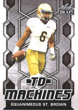 Load image into Gallery viewer, 2018 Leaf Draft Football Cards - TD Machines: #TD-07 Equanimeous St. Brown