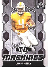 Load image into Gallery viewer, 2018 Leaf Draft Football Cards - TD Machines: #TD-08 John Kelly